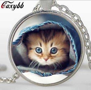Halskette Katze Süss Neu