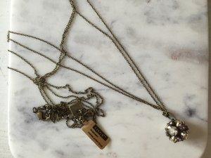 Halskette Kette KONPLOTT Morgenstern rosa Kristalle - NEU