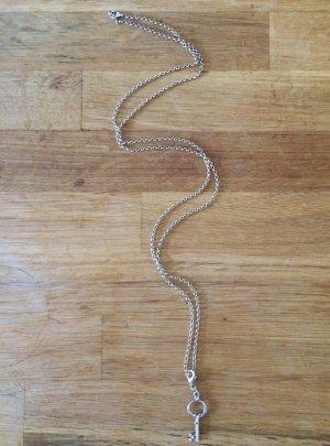 Halskette, lang, Kette, Schmuck, Schlüssel, Pilgrim, silber