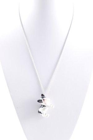 Halskette mehrfarbig Animal-Look