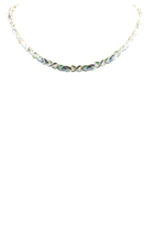 Halskette mehrfarbig klassischer Stil