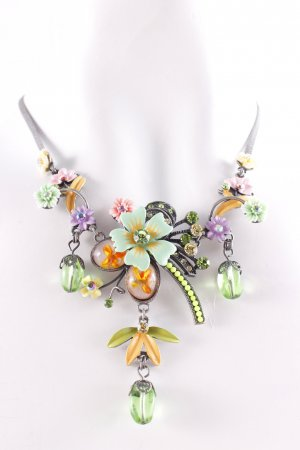 Collar multicolor look vintage