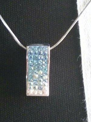 Halskette mit Anhänger Swarovski Elements