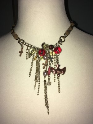 Galliano Collar estilo collier multicolor