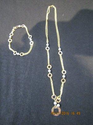 Collana multicolore Oro