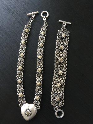 Halskette mit Armband Trachtenschmuck