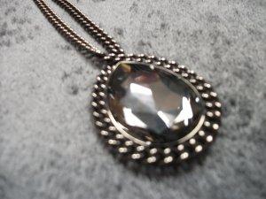 Halskette mit großer Swarovski Medaille