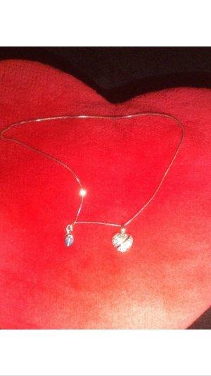 Halskette mit herz anhânger silber 925