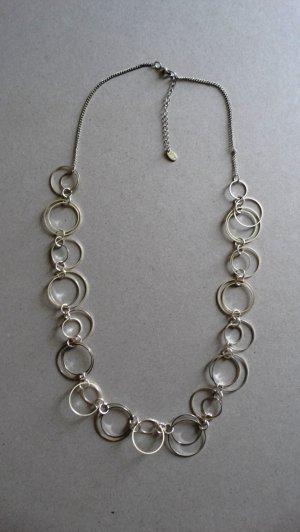 Collana argento-grigio chiaro