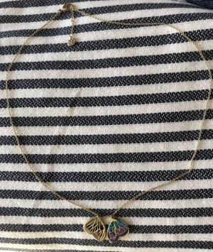 Halskette mit Schmetterlingen