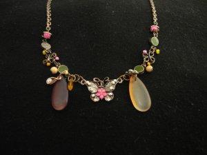 Halskette mit Schmetterlingsanhänger