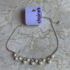 Claires Necklace silver-colored