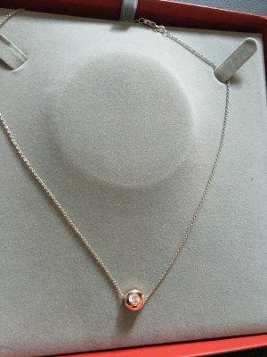 *** Halskette mit Zirkonia-Stein ***
