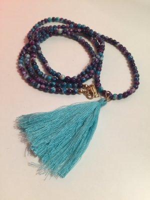 Halskette multicolor