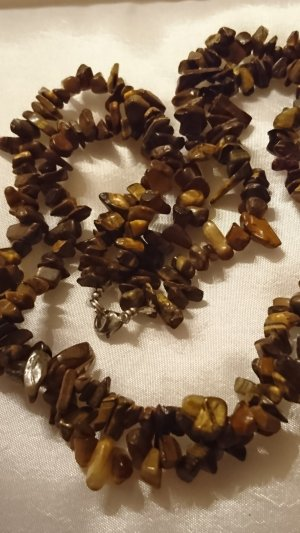 Collier Necklace light brown-brown