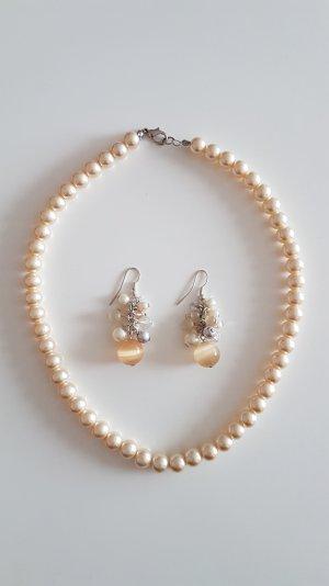 Halskette Ohrring Set