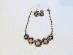 Halskette & Ohrringe