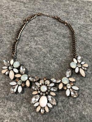 Halskette Pastellfarben - Modeschmuck