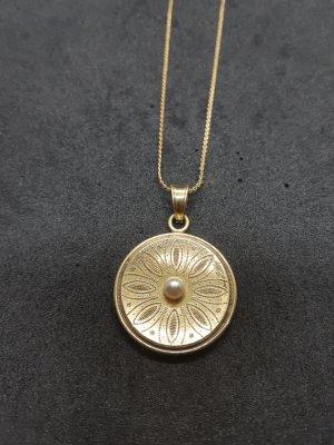 Halskette Perlen Vintage Alt