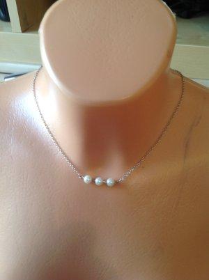 Halskette Pieces silber