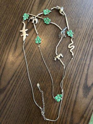 Pilgrim Collar color oro-verde