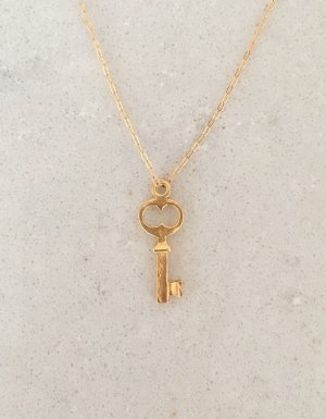Halskette Schlüssel Anhänger
