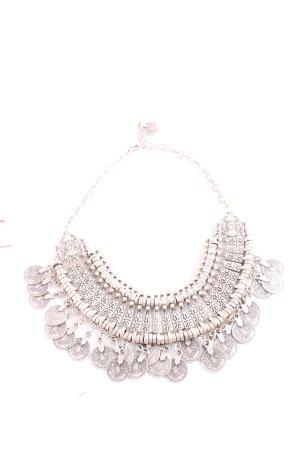 Halskette silberfarben Boho-Look