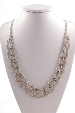 Halskette silberfarben Elegant