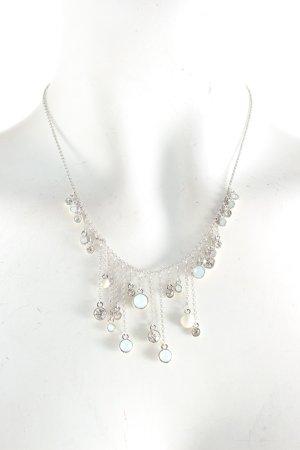 Halskette silberfarben Eleganz-Look