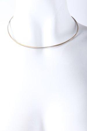 Collar color plata-color oro elegante