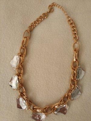 Halskette Statement Kette in gold