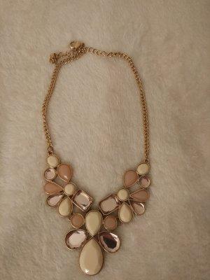 Halskette Statement Kette in gold ,weiß, rosé