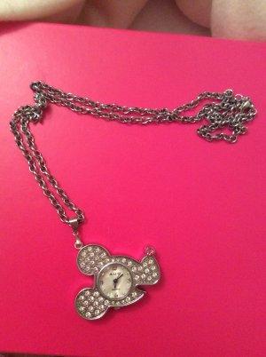 Halskette Uhr Modeschmuck neu