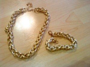 Halskette und Armband von Vögele Modeschmuck