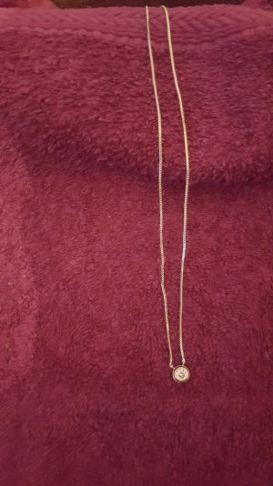 Halskette vergoldet 24 k