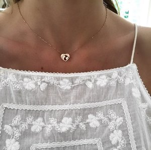 Collier or rose