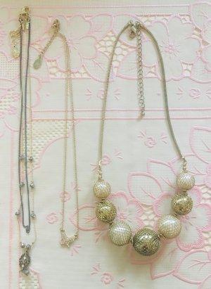 Collana argento-oro