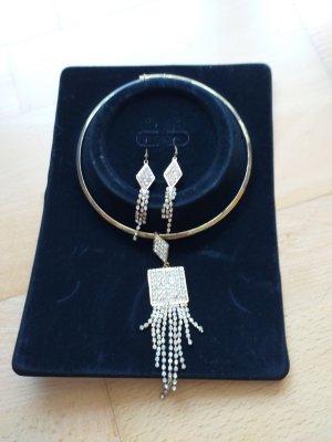 Halsschmuck + Paar Ohrringe