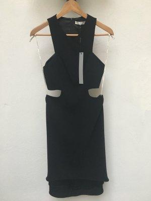 Halston Heritage - Crêpe-Kleid mit Cut-Outs (NP 295 USD)