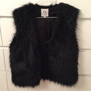 Halston Heritage Fellweste (Fake Fur)