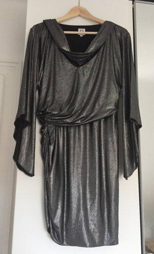 Halston Heritage Kleid Silber Größe 34/36