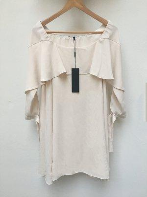 Halston Heritage - Schulterfreies Kleid mit Volant (NP 345 USD)