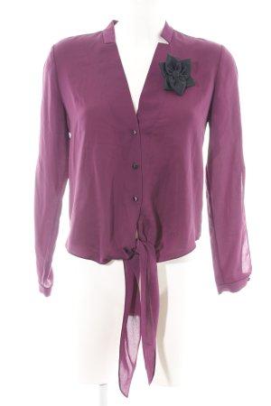 Halston heritage Camicetta aderente rosa stile casual