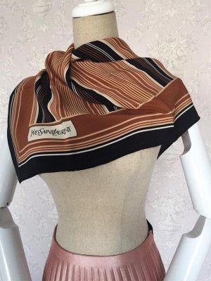 Yves Saint Laurent Zijden sjaal veelkleurig Zijde