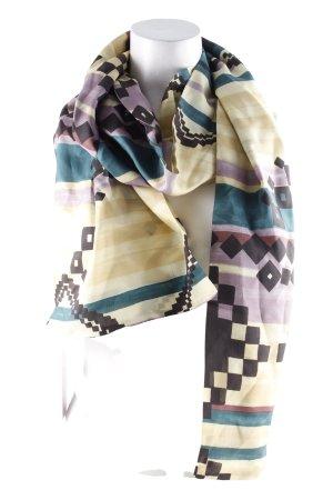 Pañoleta estampado con diseño abstracto look casual