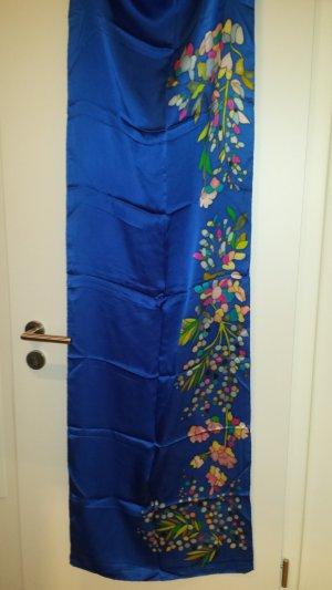Pañoleta azul Seda