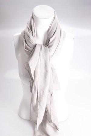 Halstuch beige-grau Strukturoptik