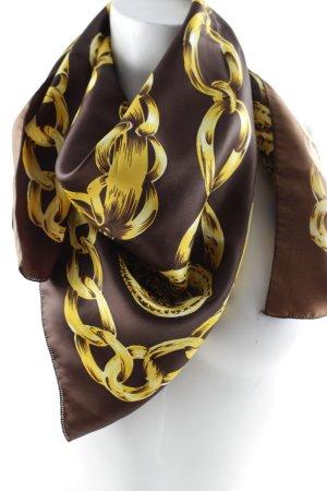 Neckerchief brown-gold-colored elegant