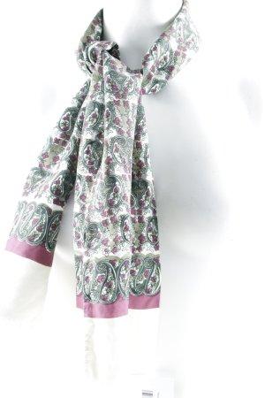 Neckerchief floral pattern casual look