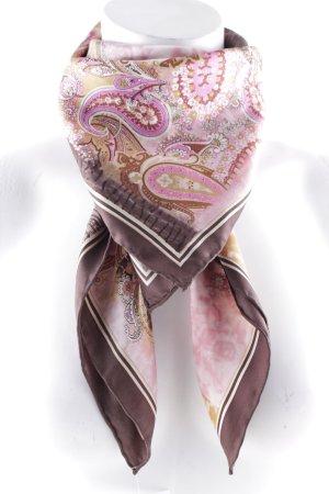 Neckerchief floral pattern extravagant style
